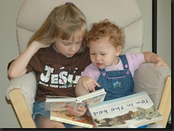 K reading to T