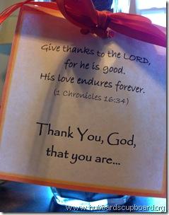 thankful verse