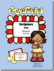 Summer Scripture Study Cover