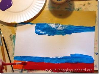 ocean acrylic painting 2