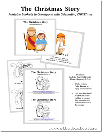 The Christmas Story Booklet Sample