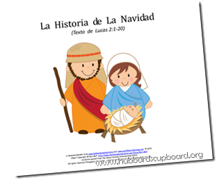 The Christmas Story Booklet Spanish Cover