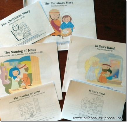 Christmas Scripture Booklets