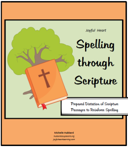 JH Spelling through Scripture Cover