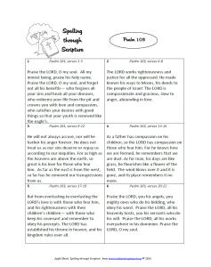 Sample Passage1