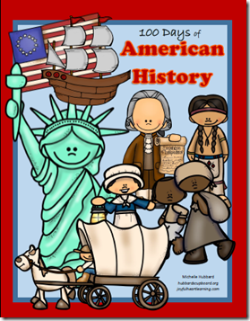100 Days of American History Cover