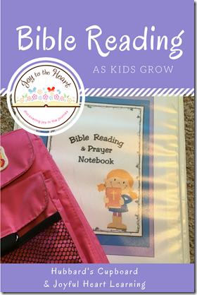Bible Reading as Kids Grow