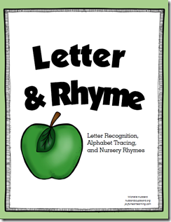 Letter and Rhyme Cover