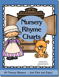 Nursery Rhyme Charts Cover