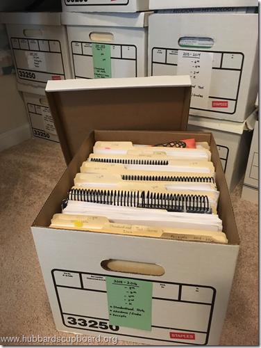 Yearly File Box
