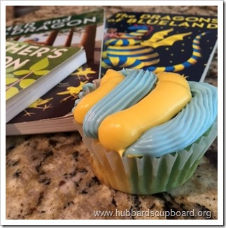 Blue&Yellow Cupcakes