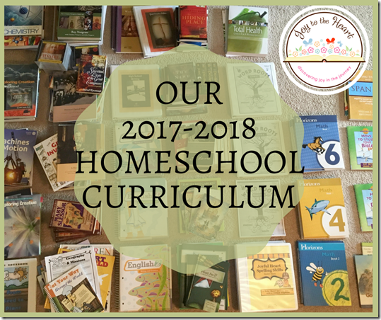 Our 2017-2018 Curriculum