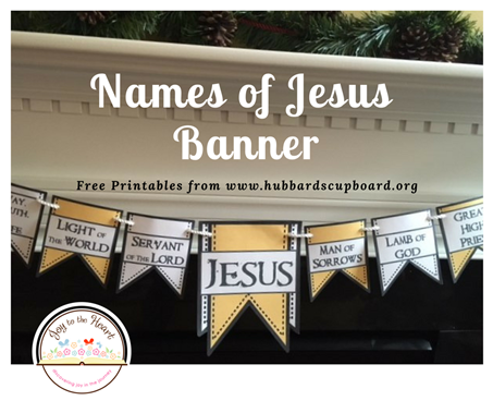 Names of Jesus Banner2