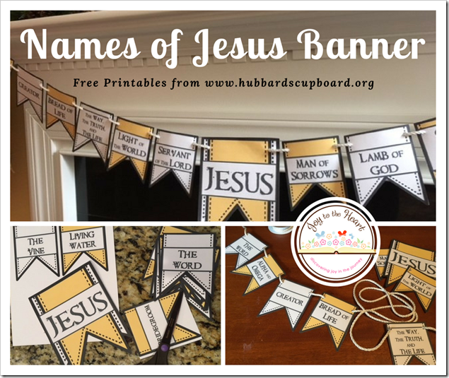 Names of Jesus Banner