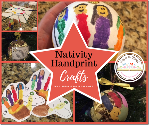 Nativity Handprint Crafts