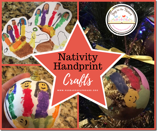 Photos Nativity Handprint Crafts