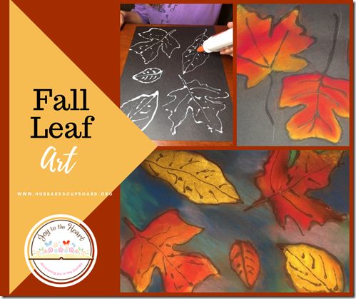 Fall Leaf Art