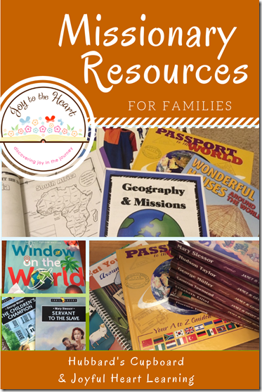 Missionary Resources for Families