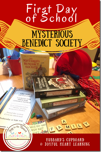 Mysterious Benedict Society Themed 1st Day (1)