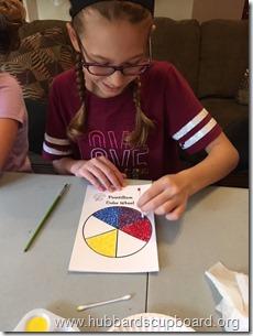 2 - Pointillism Color Wheel